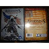 Assassin's Creed III 3 Collectible Steelbook Only Xbox 360 Ps3 NEW No Game Rare