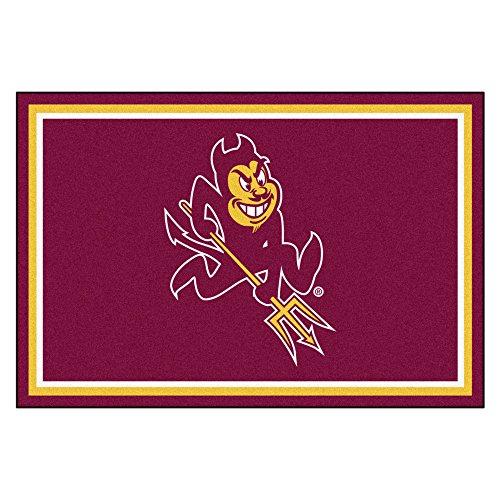 Arizona State Sun Devils Rug - Arizona State University Sun Devils Mascot Area Rug (4' x 6')