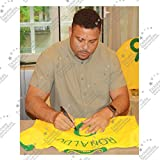 Ronaldo de Lima Signed 2006-08 Brazil Home Shirt | Autographed Jersey