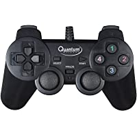 Quantum QHM7468-2V 2.0 PC Game Pad Controller (Black)