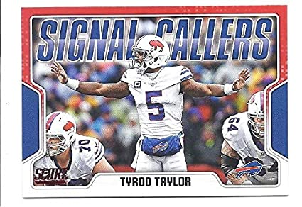 Amerikaans voetbal 2017 Donruss Optic Red/99 #51 Tyrod Taylor Buffalo Bills Football Card Verzamelkaarten: sport