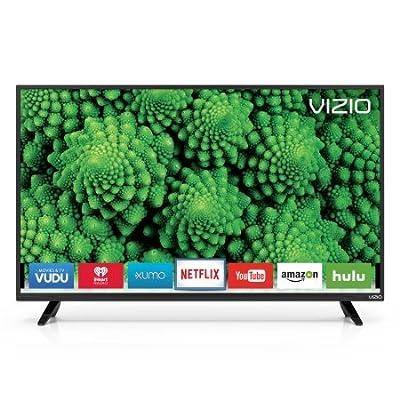 VIZIO 40 Class FHD (1080P) Smart Full Array LED TV (D40f-E1) (Certified Refurbished)