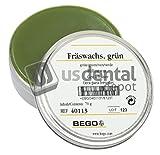 milling wax - BEGO - Milling Wax Green 3oz. - (B# 400046 ) -- US DENTAL DEPOT Inc is 105057 Us Dental Depot