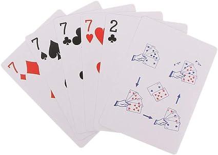 4 Cards 7 To 2 Transformer Magic Tricks Magic Props Close Up Magic Toy Kids Toy