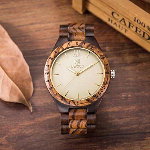 Wood-WatchBIOSTON-Natural-Wood-Watch-Roman-Number-Men-Big-Size-Handmade-Vintage-Men-Wood-Watch