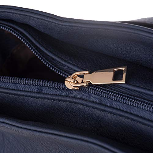 Blue Baby Bag Pink Bag Women Working Shopping Tote Bag LaRechor Trendy Ladies Large Noble 5 Fashion Shoulder Handbag Rivets Laptop Purse Fits Shoulder 13 Bag inch wngPqx4PB