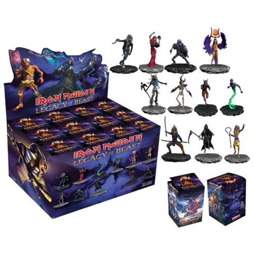 Iron Maiden Mini-Figures Blind Box Wave 1 Case Iron Maiden Eddie