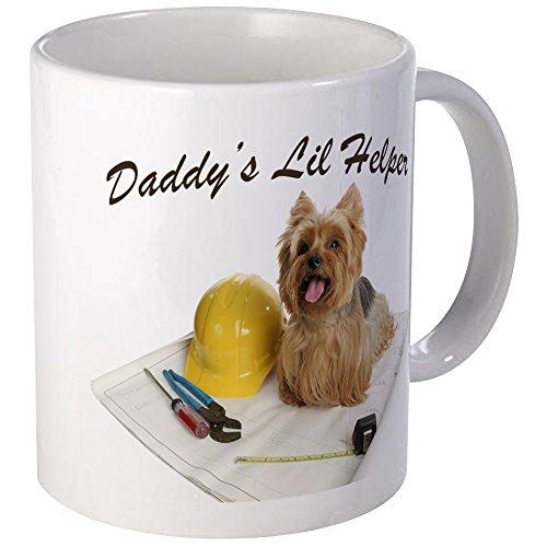CafePress - Yorkie Is Daddy's Helper Mug - Unique Coffee Mug, Coffee Cup