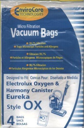 Electrolux, OX Vacuum Bags, 4 Pk. Fits 61320 EL200