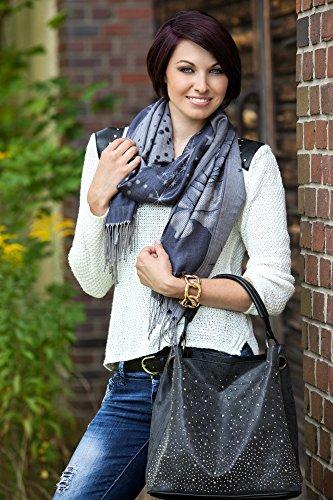 Mujer Cruzados Bolso Oscuro Marrón Stylebreaker Para FBtn5xdwwq