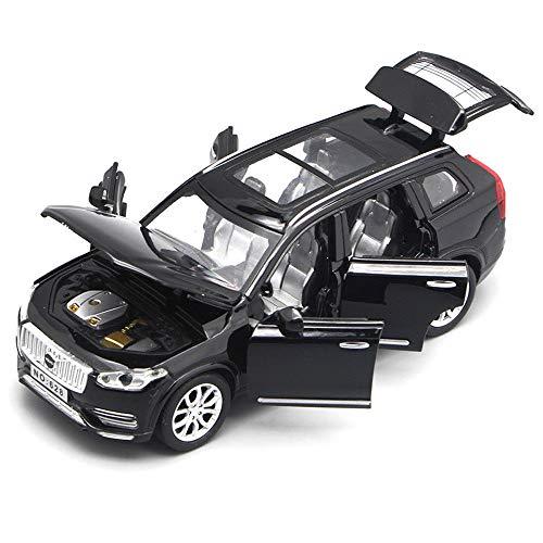 FidgetGear 1pcs New 1:32 Volvo XC90 T6 Alloy Diecast Toys Vehicles Model Car Deco Pull Back Black