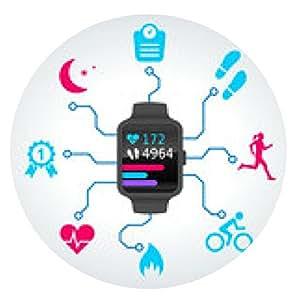 alfombrilla de ratón muestra Conectada - reloj inteligente - Deportes - 2014_09 - 2 - ronda - 20cm