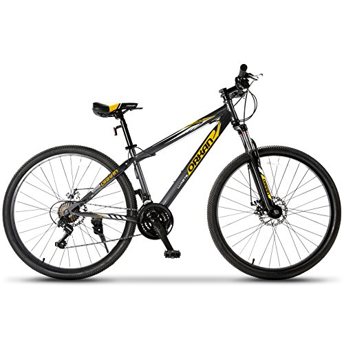 Murtisol Mountain Bike 27.5'' Hybrid Bicycle 21 Speed with...