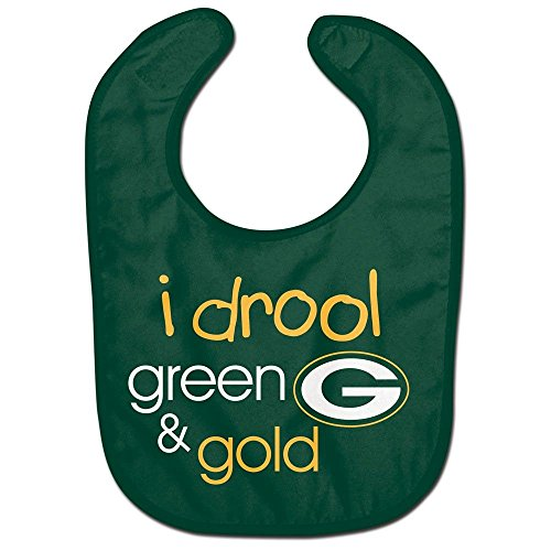 Wincraft NFL Green Bay Packers WCRA1959314 All Pro Baby Bib