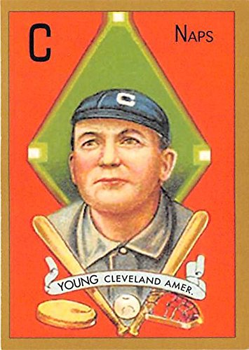 Cy Young baseball card (Cleveland Indians Hall of Famer) 2011 Topps ()