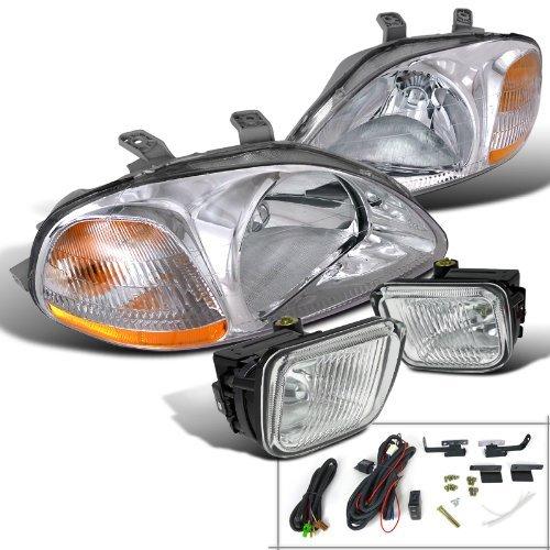 97 civic clear headlights - 9