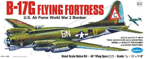 Guillow's Boeing B-17G Flying Fortress Model Kit (Guillows Model Airplane Kits compare prices)