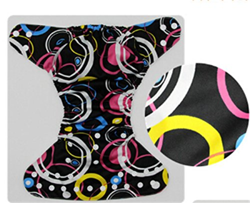 Tiger-zhou Girls and Boys General Leakproof Diaper Reusable Cloth Diapers