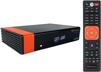 GT Media V8 Nova DVB-S2 Decodificador Satélite Receptor de TV Digital con Wi-Fi Incorporado/SCART / 1080P Full HD/FTA Soporte CC CAM, PVR Ready, ...