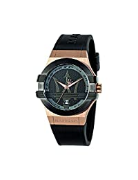 Maserati Men's R8851108002 Potenza Black Watch