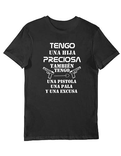 Camiseta Personalizada Tengo una hija Preciosa Regalo día del ...