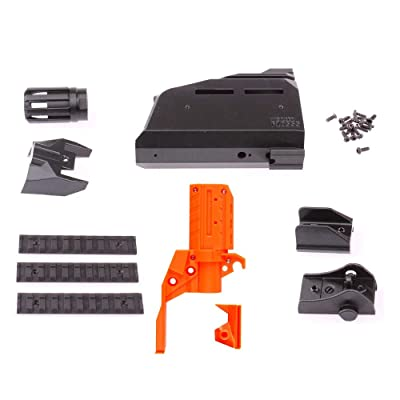 WORKER No.107 Scorpion EVO3 Front Tube Kit(with Front Tube Adaptor) for Nerf Stryfe: Toys & Games