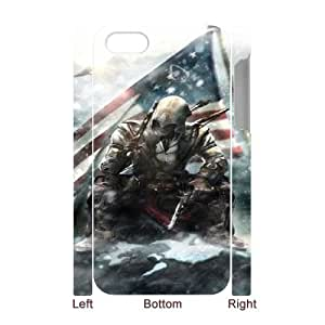 Assassin's Creed 022 iPhone 4 4s Cell Phone Case 3D White yyfD-035546