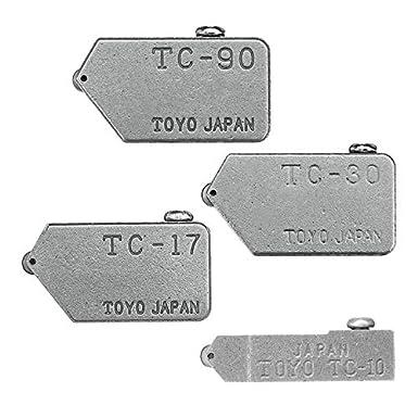Masun Ersatz-Fliesenschneiderkopf f/ür Tc-17 Tc-30 Tc-10 Tc-90 Toyo Glas gerade schneiden 1 10