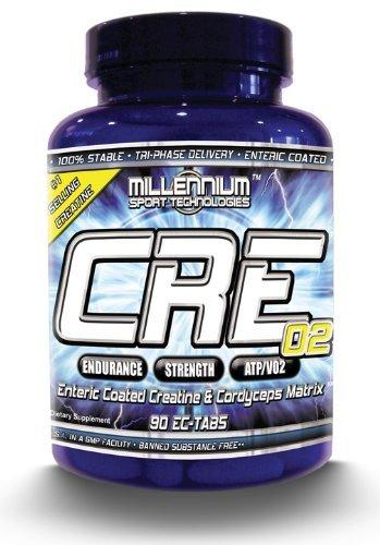 Du Millénaire pour le CRE-02 créatine - 90 comprimés