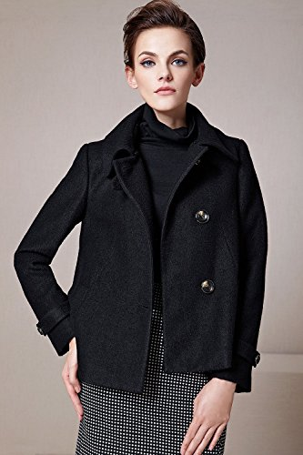 Short Wool Coat Photo Album - Reikian