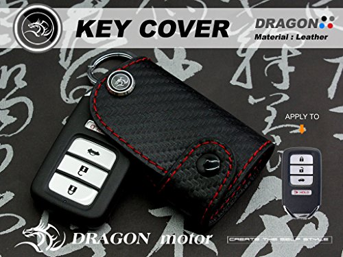 Taiwan Leather Key fob Holder Case Chain Cover FIT For HO...