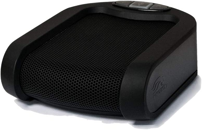 Phoenix Audio MT202-EXE Duet Executive - USB Table Personal Speakerphone for Video Conferencing – Analog Connection for Phone & Tablets. Personal & Home Office Speakerphone