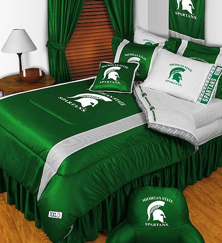NCAA Michigan State Spartans - 5pc BEDDING Set - Queen Bed in a Bag by Store51