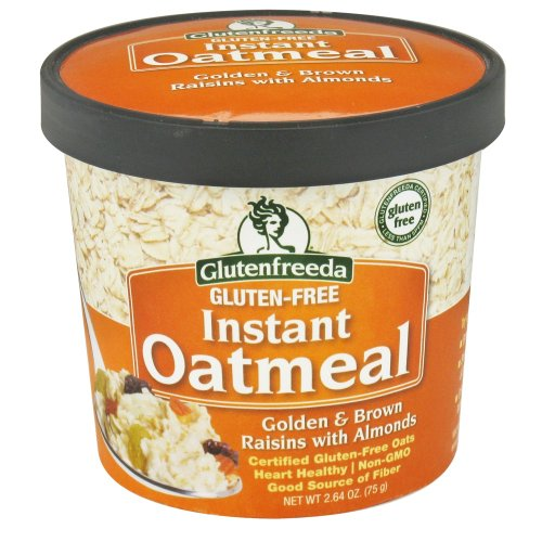 Glutenfreeda Foods Oatmeal Cup Rsn/Almond (12x2.64OZ )