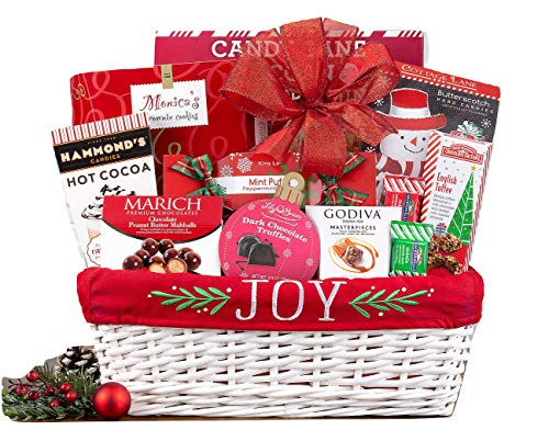 Wine Country Gift Baskets Joy to the World Holiday Gift Basket. For Christmas Gift Baskets, Family Gift Basket, Corporate Gift Basket, Celebration Gify Basket, Gift Basket For Her, Wife Gift Basket from Wine Country Gift Baskets