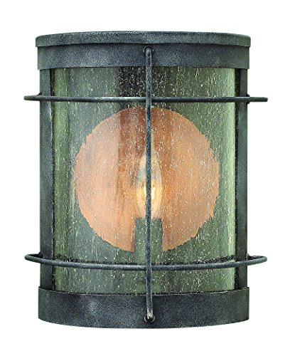 - Hinkley 2620DZ Traditional One Light Wall Mount from Newport Collection in Bronze/Darkfinish,
