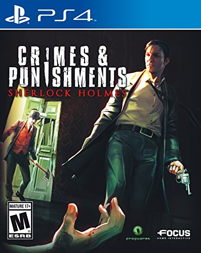 Sherlock Holmes: Crimes & Punishments - PlayStation - Puzzle Game Cd