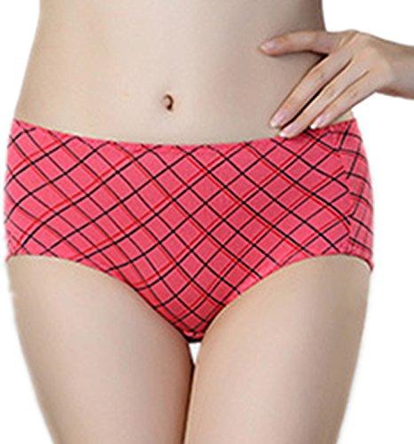 MEISHINE® Elegante Mujer Menstrual Period Braguita �?Modal Hipster Briefs Culottes Ropa Interior Style 3