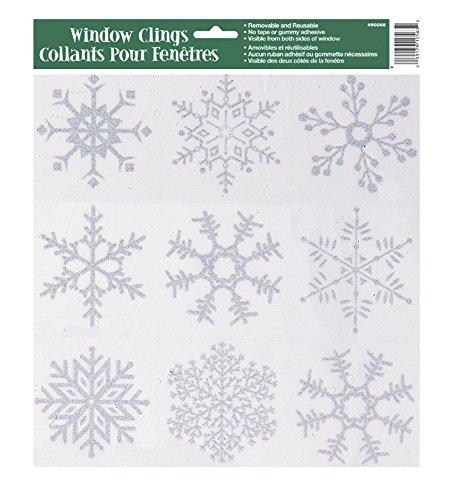 Silver-Glitter-Snowflake-Window-Cling-Sheet