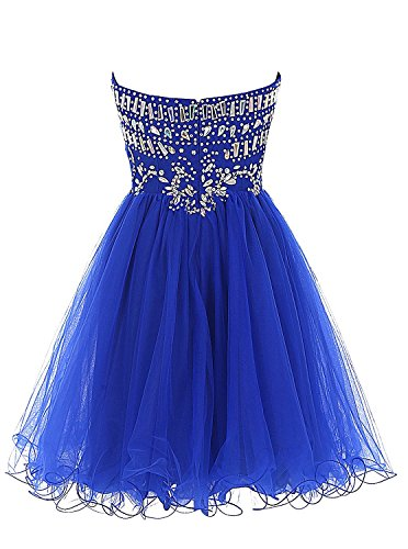 Kleider 2016 Party Ball Fanciest Dark Kleider Red Wedding Gray Damen Ball Beaded Kurz nxzAZq