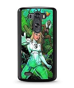 Superhero Comics Fantastic Four LG G3 Funda Case Anti Dust Special For boys Hard Plastic Phone Funda Case