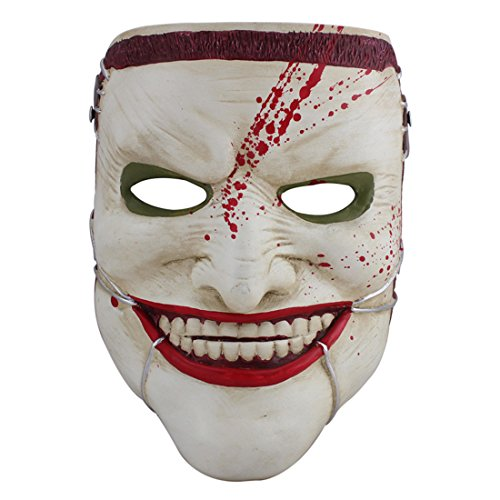 [YUFENG Joker Mask Death of the Family Halloween masks] (Ghana Costume For Boys)