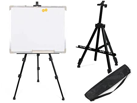 livivo artist field studio telescopic painting easel tripod display