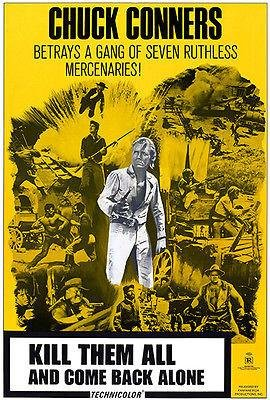 Kill Them All and Come Back Alone - 1968 - Movie Poster