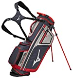 Mizuno 2018 BR-D4 Stand Golf Bag, Grey/Red