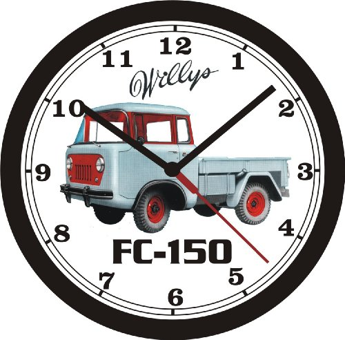 WILLYS JEEP FC-150 TRUCK WALL CLOCK- FREE USA SHIP!