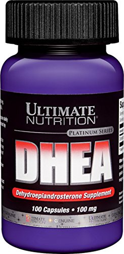 Ultimate Nutrition DHEA 100 mg. 100 Capsules (pack de 2)