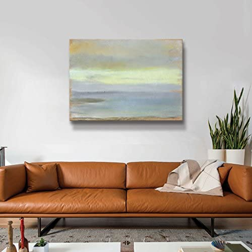 The ArtWall Edgar Degas Marine Sunset Gallery Wrapped Canvas Art, 08 x 10