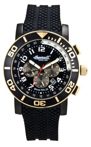 Ingersoll Men's IN3207GBKG Bison No 22 Watch