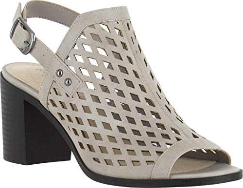 Easy Street Womens Erin Heel Sandal Cloud-grey